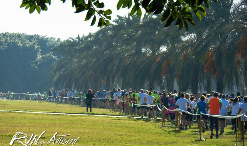la Run with Autism 2016 è partita