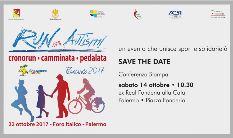 conferenza stampa 'Run with Autism 2017'
